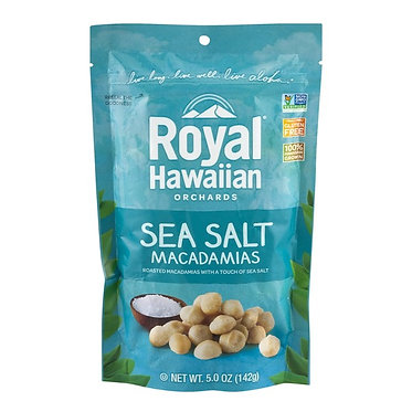 Royal Hawaiian Orchards Sea Salt Macadamias 5 oz