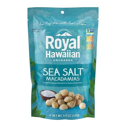 Royal Hawaiian Orchards Sea Salt Macadamias 5 oz