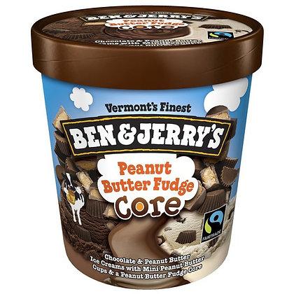 Ben & Jerry's Peanut Butter Fudge Core