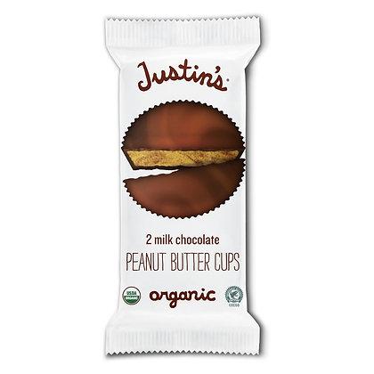 Justin's Organic Peanut Butter Cups - 2 CT 1.4 oz