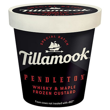 Tillamook Frozen Custard, Whisky & Maple 15.5 oz