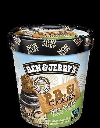 Ben & Jerry's Non-Dairy Ice Cream P.B. & Cookies