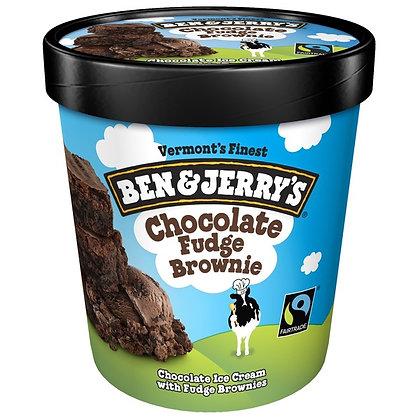 Ben & Jerry's Chocolate Fudge Brownie Ice Cream 1 pt