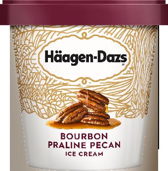 HAAGEN-DAZS Bourbon Praline Pecan 14 fl oz