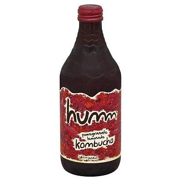 Humm Kombucha, Pomegranate Lemonade 14 oz