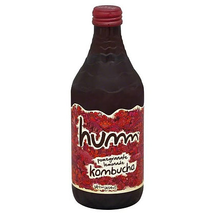 Humm Kombucha, Pomegranate Lemonade 14 oz
