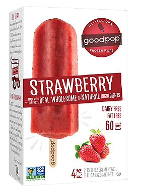 GOOD POPS STRAWBERRY