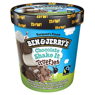 Ben & Jerry's Chocolate Shake It