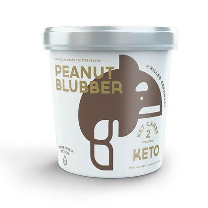 Killer Creamery Peanut Blubber, Chocolate Peanut Butter, 1 pt
