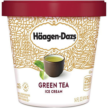 HAAGEN-DAZS Green Tea Ice Cream 14 fl oz