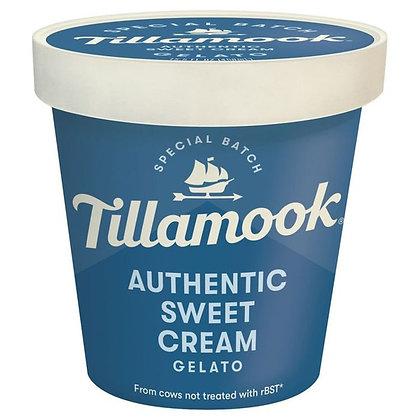 Tillamook Gelato, Authentic Sweet Cream 15.5 oz