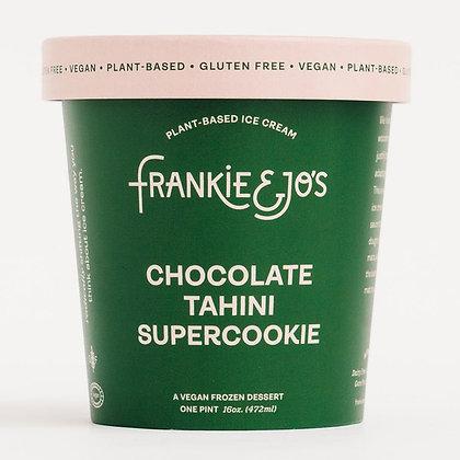 Frankie & Jo's Tahini Chocolate Supercookie Plant-Based Ice Cream 16 fl oz