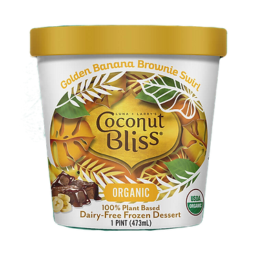 Coconut Bliss Golden Banana Brownie Swirl