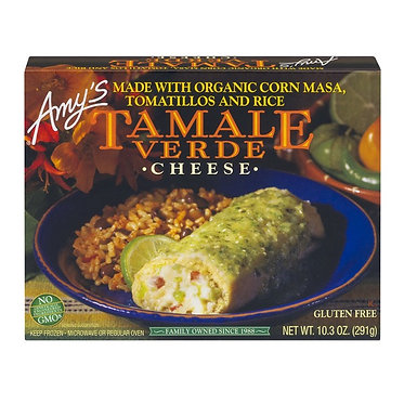 Amy's Cheese Tamale Verde 10.3 oz