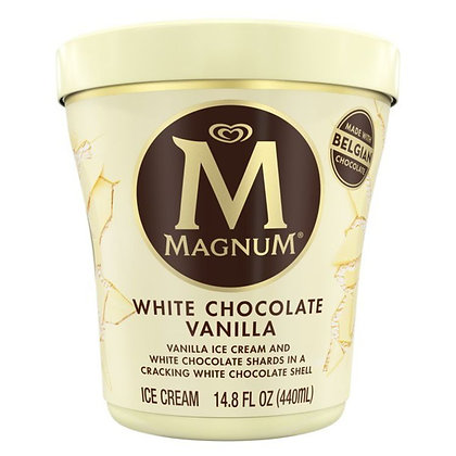 Magnum Ice Cream White Chocolate Vanilla 14.8 oz