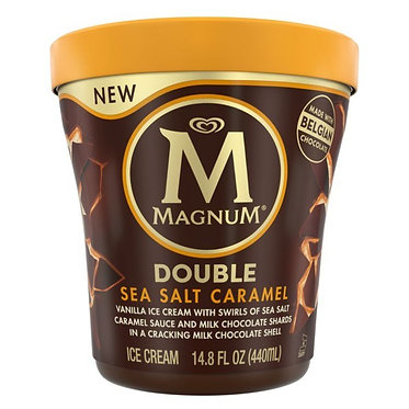 Magnum Ice Cream Double Sea Salt Caramel 14.8 oz