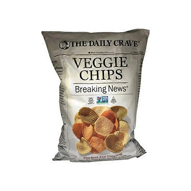 The Daily Crave Breaking News Veggie Chips 20 oz