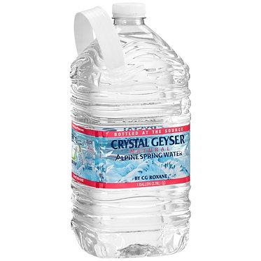 Crystal Geyser® Alpine Spring Water 1 gal