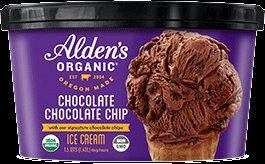 Alden's Organic Ice Cream Chocolate Chocolate Chip 48 oz