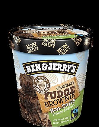 Ben & Jerry's Non-Dairy Ice Cream Chocolate Fudge Brownie
