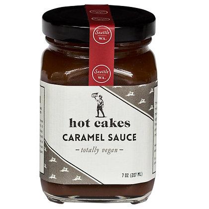 Hot Cakes Totally Vegan Caramel Sauce 7-ounce jar
