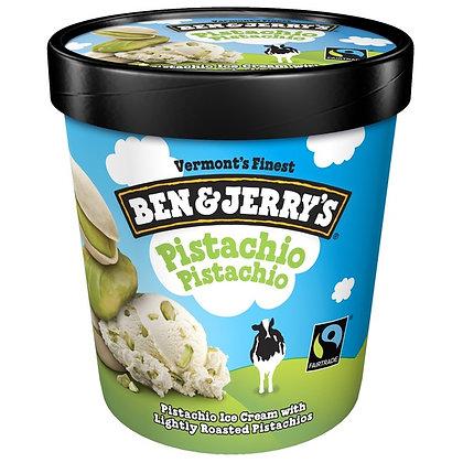 Ben & Jerry's Pistachio Pistachio Ice Cream 1 pt