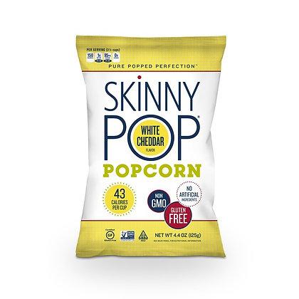 SkinnyPop White Cheddar Popcorn 4.4 oz