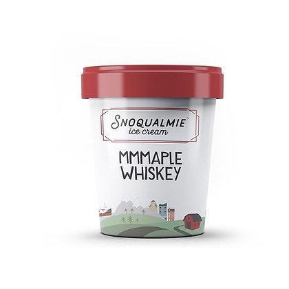 Snoqualmie Ice Cream, Mmmaple Whiskey 1 pt