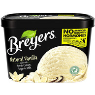 Breyers Natural Vanilla Ice Cream