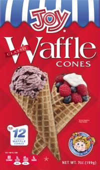 Joy Waffle Cone 12ct