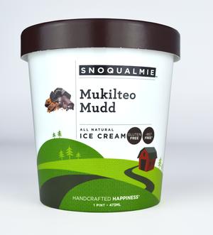 Snoqualmie Mukilteo Mudd Ice Cream 1 pt