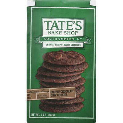 Tate's Bake Shop Double Chocolate Chip Cookies 7.0 oz