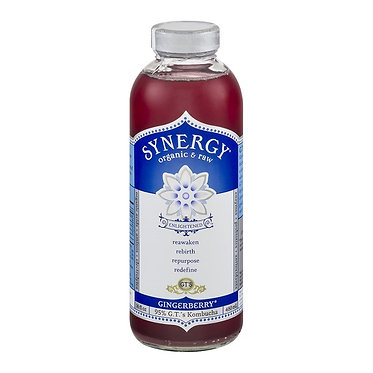 GT's Synergy Organic Kombucha Gingerberry 16 fl oz