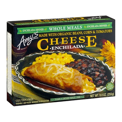 Amy's Cheese Enchilada Meal 9 oz