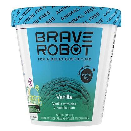 Brave Robot Ice Cream, Animal-Free, Vanilla 14 oz