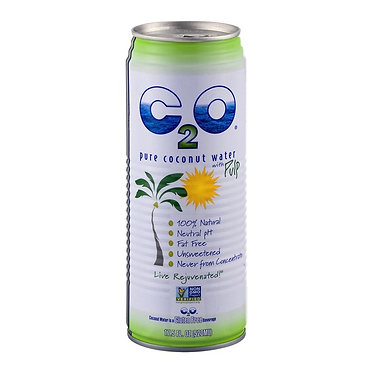 C2O Pure Coconut Water with Pulp 17.5 fl oz