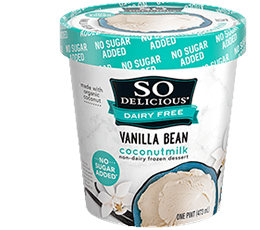 So Delicious Dairy Free Vanilla Bean Coconutmilk Non-Dairy Frozen Dessert 16 oz