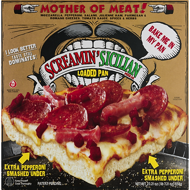 Screamin' Sicilian™ Pizza Co. Loaded Pan Pizza Mother Of Meat