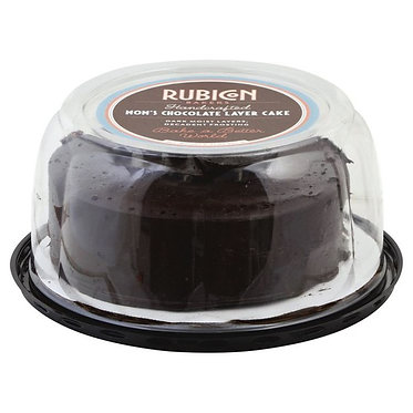 Rubicon Bakers Cake, Mom's Chocolate Layer 21 oz