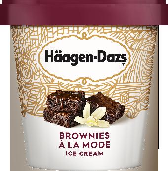 HAAGEN-DAZS Brownies à la Mode 14 fl oz