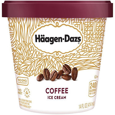 HAAGEN-DAZS Coffee Ice Cream 14 fl oz