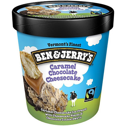 Ben & Jerry's Ice Cream Caramel Chocolate Cheesecake 16 oz
