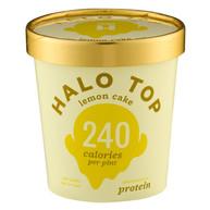 Halo Top Lemon Cake 240 Calories Per Pint