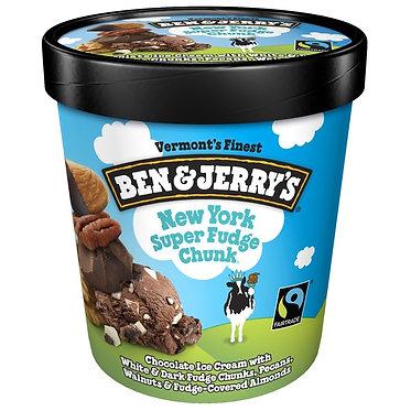 Ben & Jerry's New York Super Fudge Chunk Ice Cream 1 pt