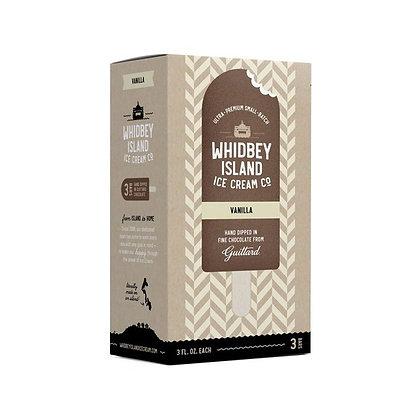 Whidney Island Ice Cream Company All Natural Ice Cream Bars, Vanilla 3 ct