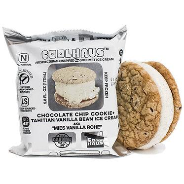 Coolhaus Chocolate Chip + Tahitian Vanilla Bean