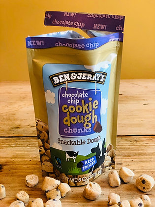 Ben & Jerry's Chocolate Chip Snackable Dough
