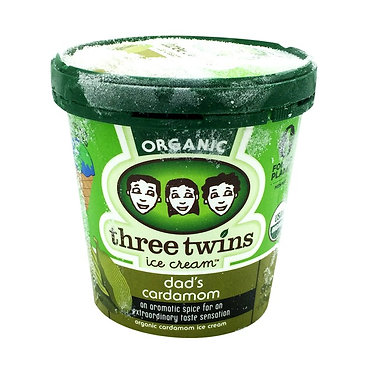 Three Twins Ice Cream, Dad's Cardamom 1 pt