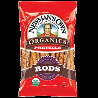 Newman Own Organic Salted Pretzel Rods