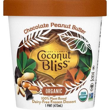 Coconut Bliss Chocolate Peanut Butter Dairy-Free Frozen Dessert 16oz